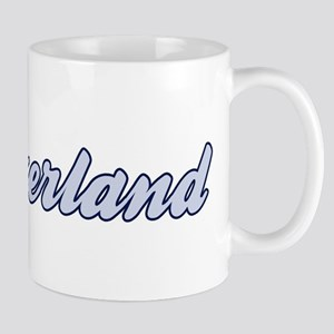Switzerland (blue) Mug