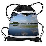 Lake of Menteith, Scotland Drawstring Bag