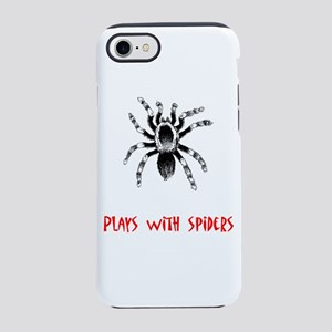 Plays with Spiders iPhone 8/7 Tough Case
