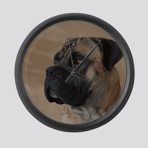 Boerboel - South African Mastiff Large Wall Clock