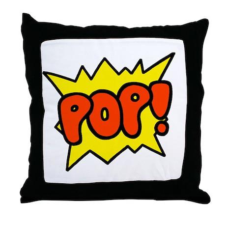 'Pop!' Throw Pillow