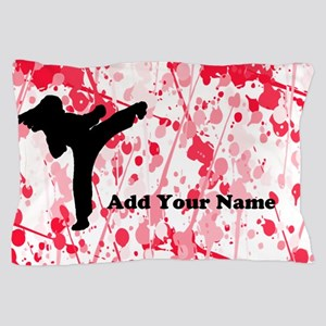 Karate Female Pillow Case