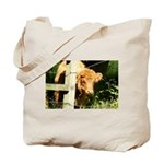 """young, free and ginger"" Tote Bag"