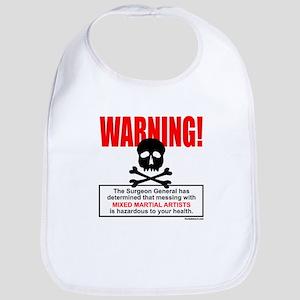WARNING MMA Bib