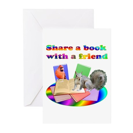 Share Books Greeting Cards (Pk of 20)