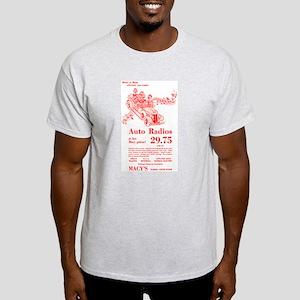 Macy's Auto Radios Light T-Shirt