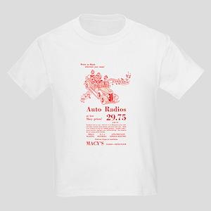 Macy's Auto Radios Kids Light T-Shirt