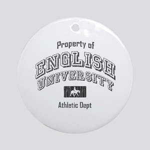English University Ornament (Round)