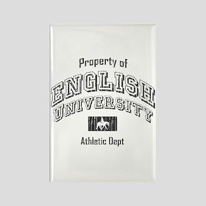 English University Rectangle Magnet