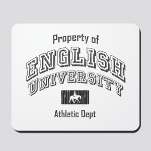 English University Mousepad