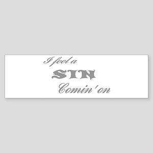 sin Bumper Sticker