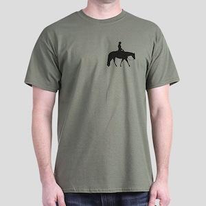 Male Pixel Pleasure Horse Dark T-Shirt