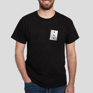 The Three of Diamonds Dark T-Shirt