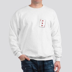 The Three of Diamonds Sweatshirt