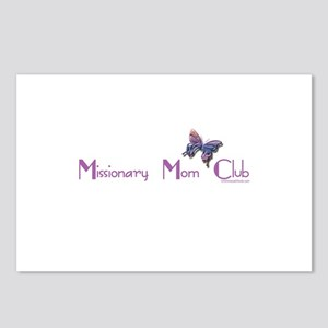 MISSIONARY MOM CLUB Postcards (Package of 8)