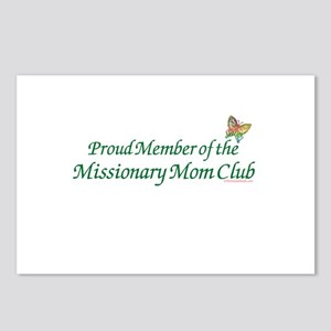 PROUD MEMBER OF THE MISSIONARY MOM CLUB Postcards