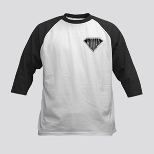 SuperWoman(metal) Kids Baseball Jersey