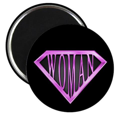 "SuperWoman(Pink) 2.25"" Magnet (100 pack)"