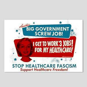 Healthcare Fascism Postcards (Package of 8)