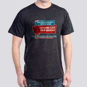 Healthcare Fascism Dark T-Shirt