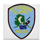 Petersburg Police Tile Coaster