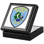 Petersburg Police Keepsake Box
