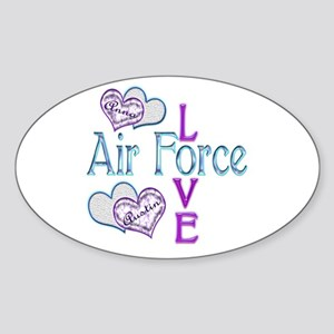 AF Love Anna and Austin Oval Sticker