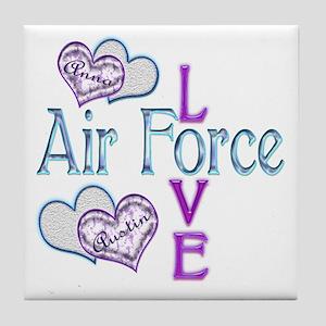 AF Love Anna and Austin Tile Coaster