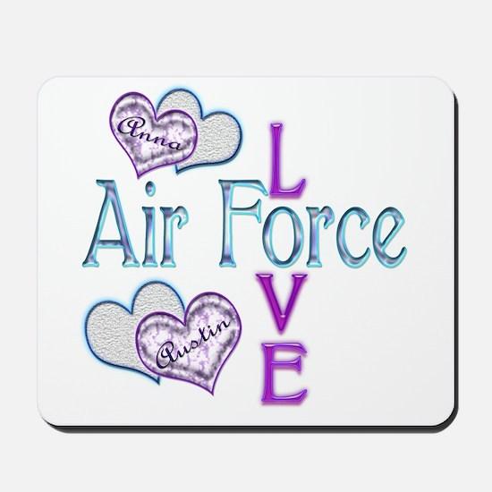 AF Love Anna and Austin Mousepad