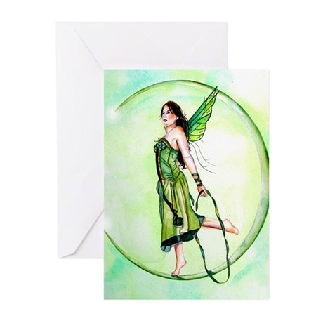 Jump Rope Fairy Greeting Cards (Pk of 10)