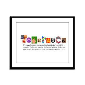 Tolerance Framed Panel Print