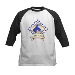Democrat Kids Baseball Jersey