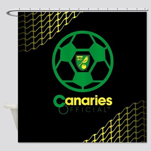 Norwich Canaries Official Shower Curtain