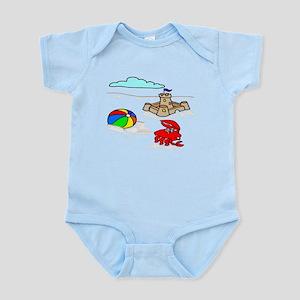Sand Castle Infant Bodysuit