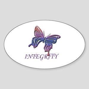 INTEGRITY Oval Sticker