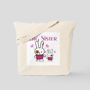 Bunnies Big Sister Tote Bag