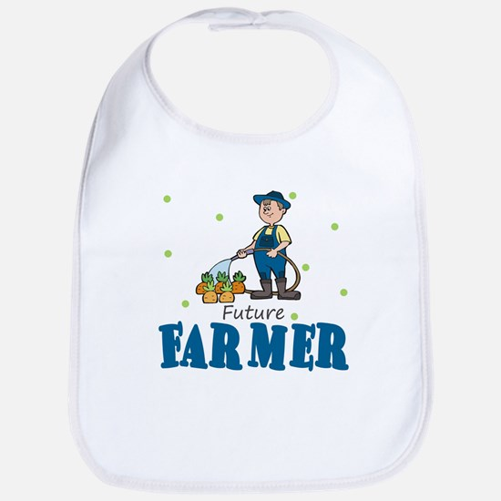 Future Farmer Farming Baby Infant Toddler Bib