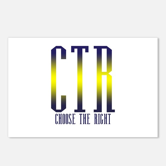 CTR Postcards (Package of 8)