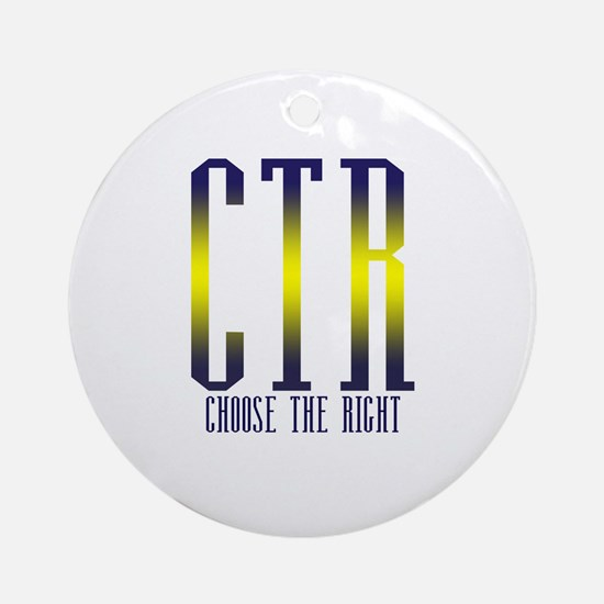 CTR Ornament (Round)