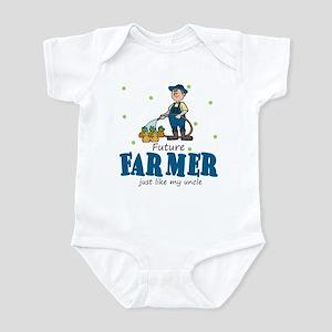 Future Farmer Like Uncle Baby Infant Bodysuit