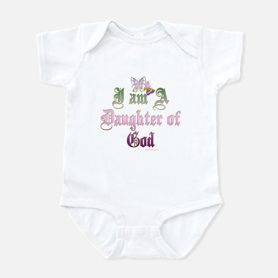 I AM A DAUGHTER OF GOD Infant Bodysuit
