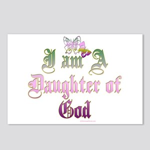 I AM A DAUGHTER OF GOD Postcards (Package of 8)