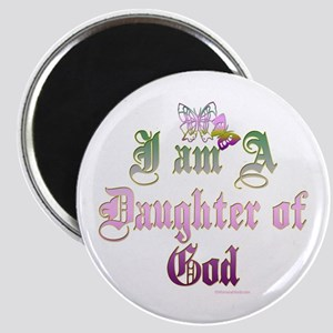 I AM A DAUGHTER OF GOD Magnet