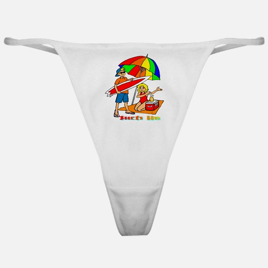 Surfs Up Classic Thong