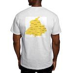 I Love Punjab Ash Grey T-Shirt