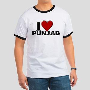 I Love Punjab Ringer T