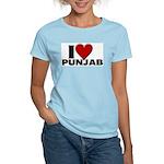 I Love Punjab Women's Pink T-Shirt