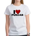I Love Punjab Women's T-Shirt