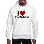 I Love Punjab Hooded Sweatshirt