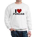 I Love Punjab Sweatshirt